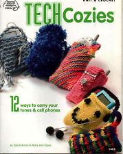 Crochet Knitting Pattern Cell phone MP3 I Pod Cover Tech Cozies