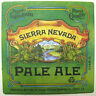 SIERRA NEVADA PALE ALE Beer COASTER, Mat, Chico, CALIFORNIA 2009, 1-sided