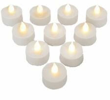 Deuba LED Teelichter Teelicht Kerzen Flackernd mit Fernbedienung und Batterien