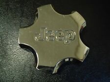 Jeep Cherokee Center Cap Hubcap for Aluminum Wheel Plastic Chrome Finish OEM