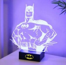 NIB BATMAN DESK LAMP Super Hero 3D Light bust statue office decor action figure