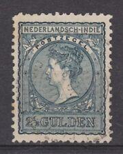 Nederlands Indie Netherlands Indies Indonesie 59 used Wilhelmina 1906