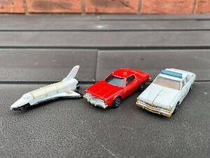 Corgi Juniors Starsky And Hutch, James Bond Space Shuttle & ERTL Hazzard Police