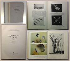 Sterba Aquarienkunde Band 1+2 1954/56 Hobby Auqarium Technik Anatomie Fische xz