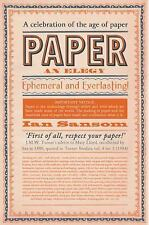 Paper by Ian Sansom (2015, Paperback)