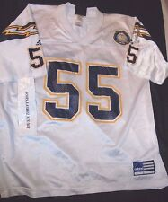 Junior SEAU 55 ADIDAS San Diego Chargers NFL Jersey Large 40th Anniversary Patch