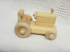 Wooden Toy Small Tractor (OS)