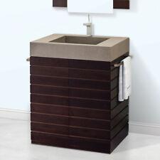 """30"""" Bathroom Vanity in Wenge"""