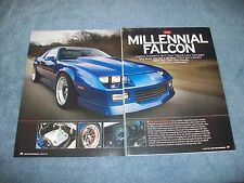 "1989 Chevy Camaro RS RestoMod Article ""Millennial Falcon"" Schwartz Performance"