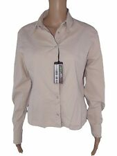 caractere camicia blusa donna sabbia made italy taglia it 46 xl extra large