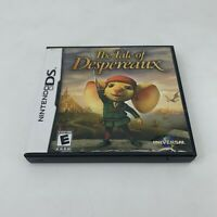 Tale of Despereaux Nintendo DS, 2008 Complete: Game, Booklet, Original Case