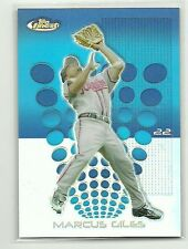 2004 Topps Finest REFRACTOR Marcus Giles Atlanta Braves Second Base Card 51