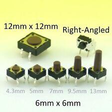 Momentané Interrupteur Tactile SPST Bouton Poussoir Miniature Miro PCB Monté