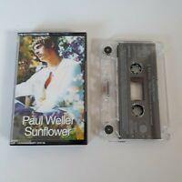 PAUL WELLER SUNFLOWER CASSETTE TAPE SINGLE GO! DISCS 1993