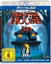 MONSTER HOUSE (Blu-ray 3D) NEU+OVP
