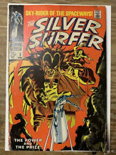 Silver Surfer #3/Silver Age Comic Book/1st Mephisto/VG-