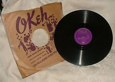 1941 GENE AUTRY 78 RPM Be Honest with Me & What's Gonna Happen to Me OKEH #05980