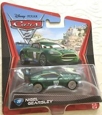 Disney Pixar Cars 2 diecast NIGEL GEARSLEY No: 20 Brand New