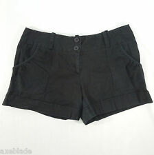 URBAN BEHAVIOR Juniors Black Bermuda Shorts