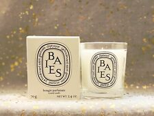 Diptyque Paris BAIES Scented Candle~70g/2.4 oz~Glass Jar~White~BNIB~Shipped Free