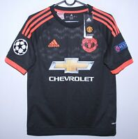 Manchester United third football shirt 15/16 #7 Memphis Adidas BNWT Size KIDS L