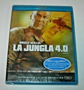 La Jungla 4.0 Blu-ray edición española precintado