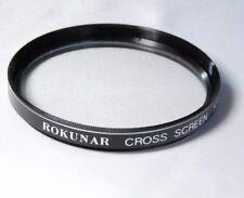 Used Rokunar 55mm Cross Screen Filter star