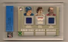 LAFLEUR, PERREAULT ITG ULTIMATE MEMORABILIA VAULT TRIPLE GAME USED JERSEY 1/1