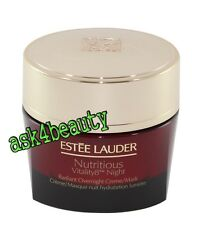 Estee Lauder Nutritious Vitality8 Night Radiant Cream 1.7oz/50ml New & Nobox
