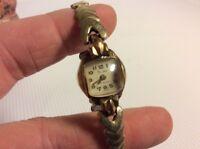Vintage Emerson 17 Jewels Swiss Wristwatch * Womens Watch
