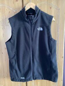 The North Face Windwall Fleece Gilet Sleeveless Jacket Size Medium VGC