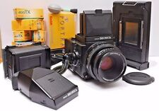 Zena Bronica ETRsi Camera + lens + many accessories + case Excellent condition