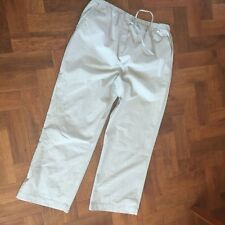 Women's Maternity Cropped Summer Trousers From Next Size 12 sea green & sequines