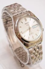 Seiko Watch 5 Automatic Silver Mens SNK355K1