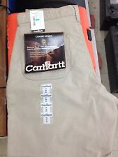 SALE!! CARHARTT CANVAS SHORTS MENS KHAKI 30 $4 OFF