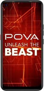"Tecno POVA 6GB RAM 128GB 6.8"" Quad Camera Dual SIM 4G Unlocked GoogleplayPhone"