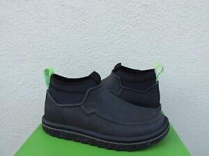 SANUK BLACK CHIBA JOURNEY LX ADVENTURE BOOTS SHOES, MEN US 9/ EUR 42 ~NIB