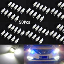 50x White T10 W5W 5630 6-SMD LED Car Wedge Side Light Bulb Lamp 168 194 192 158
