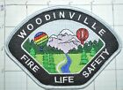 WASHINGTON STATE, WOODINVILLE RESCUE FIRE LIFE SAFETY HOT AIR BALLOONS PATCH