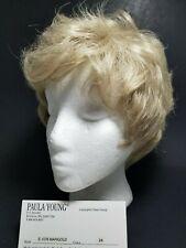 Wig Paula Young Original Classic Marigold E-1076 color 24 Blond Short Layers