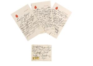 Franz Ferdinand Archduke of Austria, heir to the throne,person.letter 1911,rare!