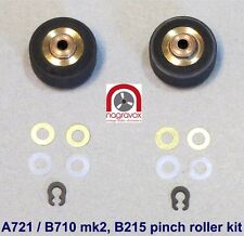 Revox Cassette B215 B215S B710 mk2 and Studer A721 Pinch Roller Kit