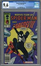 MARVEL TEAM-UP #141 CGC 9.6 ADAMS/MIGNOLA COVER! WHITE PAGES 1984