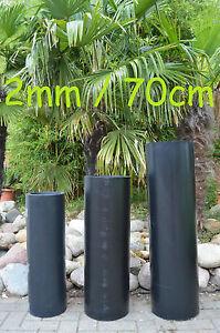 (6,33€/m) Meterpreis 2mm/70cm HDPE Bambussperre Rhizomsperre Wurzelsperre max20m