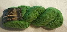 CASCADE YARNS Green 100% wool yarn skein Color #7814 100 grams Lot #3973 NEW
