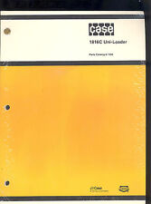 1981 J I CASE PARTS MANUAL 1816 UNI-LOADER  / Catalog No 8-1350