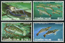 Thailand 780-783, MNH. Shrimp and lobster exports, 1976