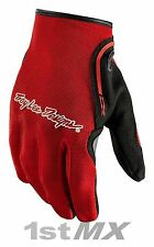 Troy Lee Designs TLD Guantes de Carreras Motocross MX XC Rojo Adultos XXLarge