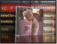 Yummy ✎SIGNED♫ by JUSTIN BIEBER New Sealed CD with Autographed Cover Variant B