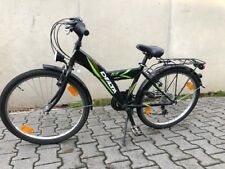Jungen-Fahrrad, Trekkingrad, 24 Zoll, 18 Gänge mit Strassenausrüstung